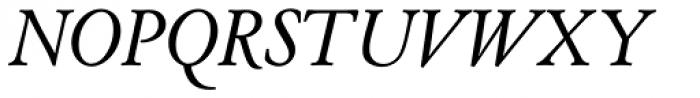 Cloister Old Style SB Italic Font UPPERCASE