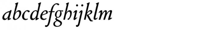 Cloister Old Style SB Italic Font LOWERCASE