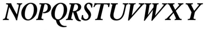 Cloister Old Style SH Bold Italic Font UPPERCASE