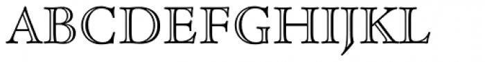 Cloister Open Face Font UPPERCASE