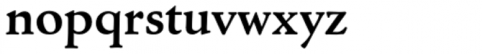 Cloister URW Bold Font LOWERCASE