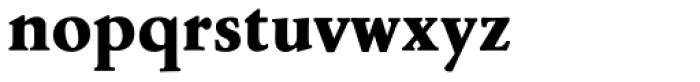 Cloister URW Heavy Weight Font LOWERCASE