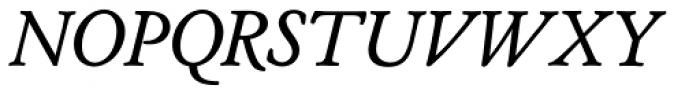 Cloister URW Italic Font UPPERCASE