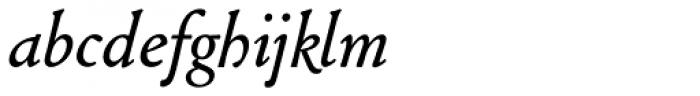 Cloister URW Italic Font LOWERCASE