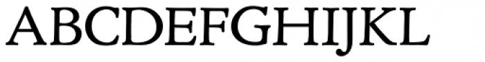 Cloister URW Regular Font UPPERCASE