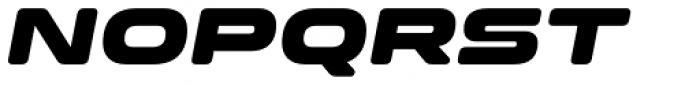 Clonoid Black Italic Font UPPERCASE