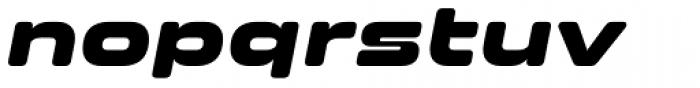 Clonoid Black Italic Font LOWERCASE