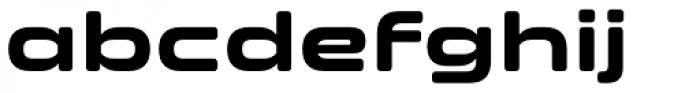 Clonoid Bold Font LOWERCASE
