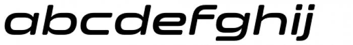 Clonoid SemiBold Italic Font LOWERCASE