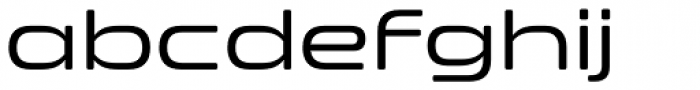 Clonoid Font LOWERCASE