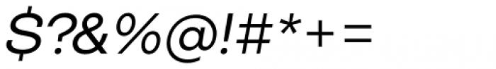 Closer Italic Font OTHER CHARS