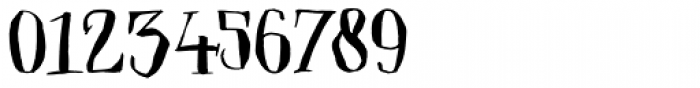 Closet Skeleton Font OTHER CHARS