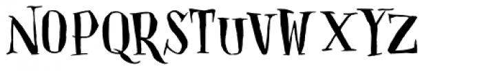 Closet Skeleton Font UPPERCASE