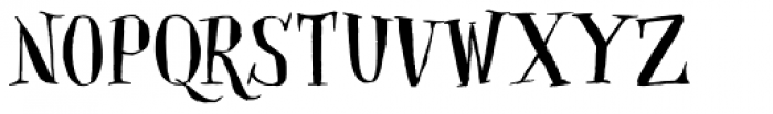 Closet Skeleton Font LOWERCASE