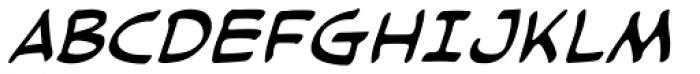 Cloudsplitter UC BB Italic Font UPPERCASE