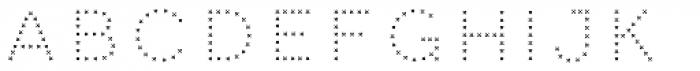 Clown Cross Font LOWERCASE