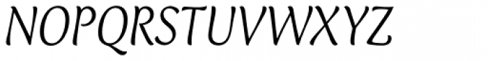 Club Type Light Italic Font UPPERCASE