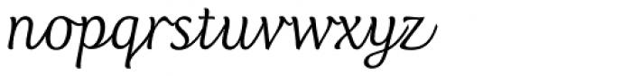 Club Type Script Pro Font LOWERCASE