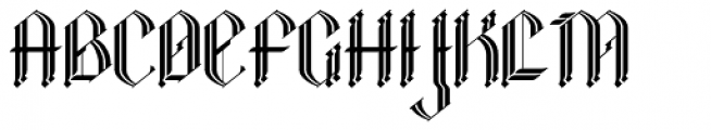 Clunic Font UPPERCASE