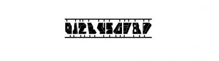 Cloak Model Font OTHER CHARS