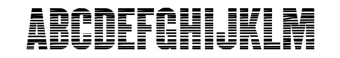 CM Mummy Tape Medium Font UPPERCASE