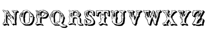 CM Old Western Shadow Font LOWERCASE