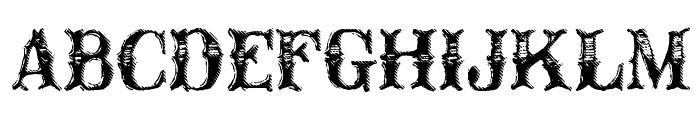 CM Old Western Font UPPERCASE
