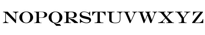 CM PRADAESQUE Regular Font LOWERCASE