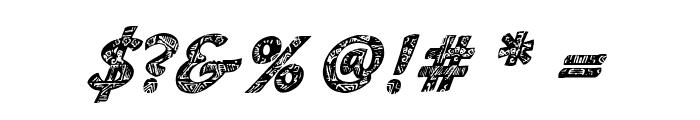 CM Tropical Script Font OTHER CHARS