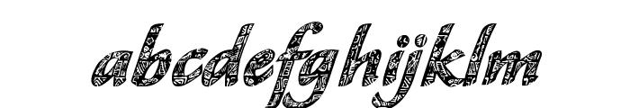 CM Tropical Script Font LOWERCASE
