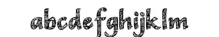 CM Tropical Vertical Font LOWERCASE