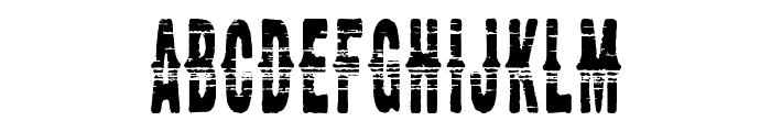 CM Western Woodblock -demo Font UPPERCASE