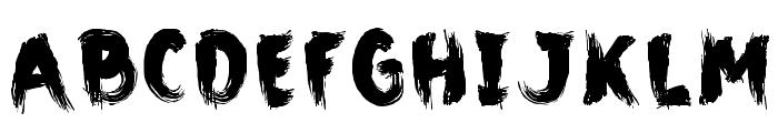CMBigFatPaintbrush Font UPPERCASE
