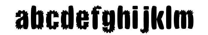 CMBloat Font LOWERCASE