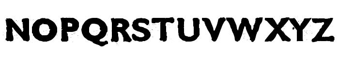 CMDestroy Font UPPERCASE