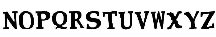 CMON NEAR Font UPPERCASE