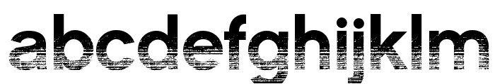 CMSansSerifAged-Medium Font LOWERCASE