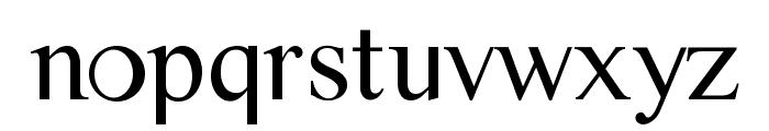CMTiempo Font LOWERCASE