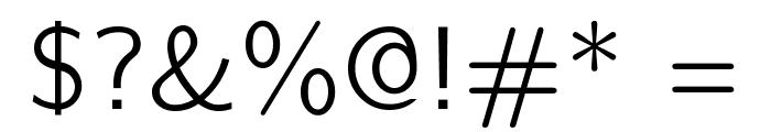 CMU Bright Roman Font OTHER CHARS