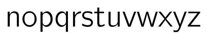 CMU Bright Roman Font LOWERCASE