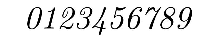 CMU Classical Serif Italic Font OTHER CHARS