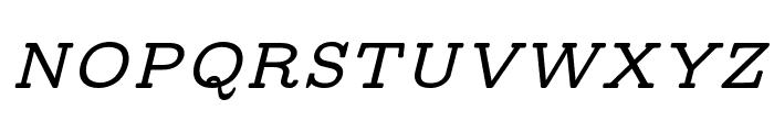 CMU Concrete BoldItalic Font UPPERCASE