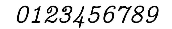 CMU Concrete Italic Font OTHER CHARS