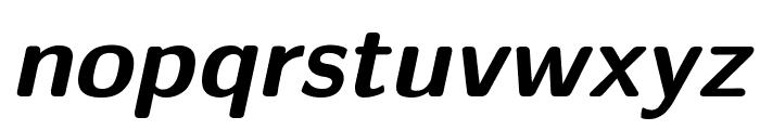 CMU Sans Serif BoldOblique Font LOWERCASE