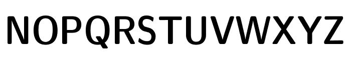 CMU Sans Serif Demi Condensed DemiCondensed Font UPPERCASE