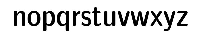 CMU Sans Serif Demi Condensed DemiCondensed Font LOWERCASE