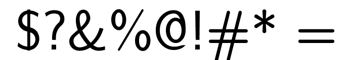 CMU Sans Serif Medium Font OTHER CHARS