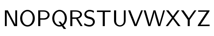 CMU Sans Serif Medium Font UPPERCASE