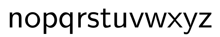 CMU Sans Serif Medium Font LOWERCASE