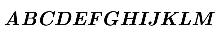 CMU Serif BoldItalic Font UPPERCASE